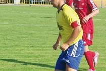 Remízový zápas rozhodla až penalta v poslední minutě, kapitán Jiří Furik byl hodně zklamaný.