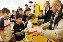 Žáci na základní škole Žižkova měli ze svého úspěchu radost.