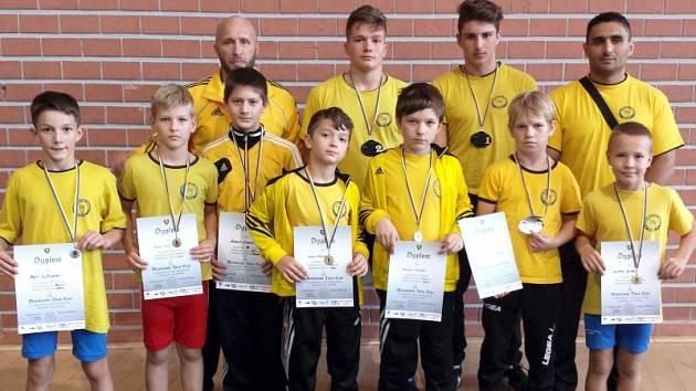Mladí krnovští zápasníci se konkurence opět nezalekli a z Polska dovezli devět cenných kovů.