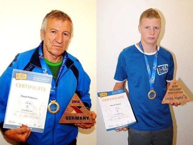 Pavel Podešva (vlevo) a Marek Ryška