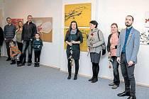 Příběhy - to je název výstavy Lenky Kamínkové, Daniely Mikuláškové a Bronislavy Šnajdrové v Rýmařově.