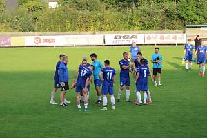 Fotbalisté Krnova porazili Hlubinu 2:0 a zůstávají stoprocentní.