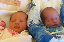 Jmenujeme se Sofie a Dominik Přasličákovi, narodili jsme se 21. března. Sofie vážila 2895 gramů a měřila 47 centimetrů, Dominik vážil 2400 gramů a měřil 46 centimetrů. Rodiče se jmenují Barbora a Lukáš. Bydlíme v Krnově.