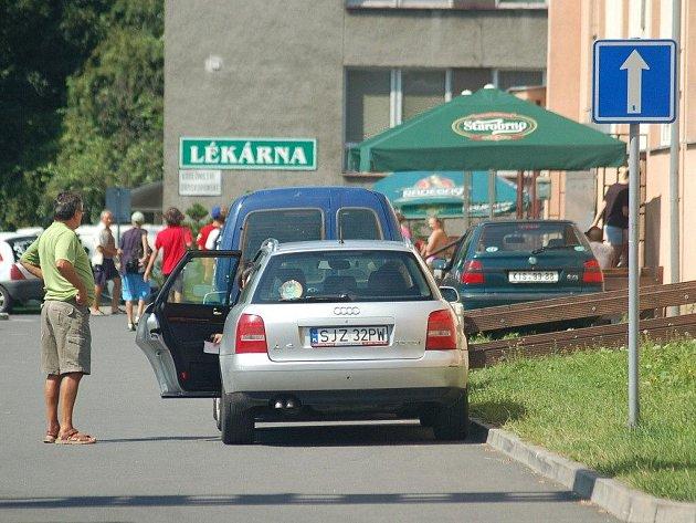 Teplé počasí přilákalo na karvinské letní koupaliště nejen obyvatele města, ale také již tradičně mnoho lidí z blízkého Polska.