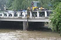 Povodňová kalamita na Krnovsku.