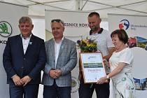 Třemešná získala Cenu naděje pro živý venkov.