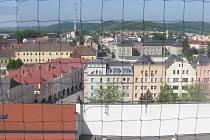 Výhledy z věže.