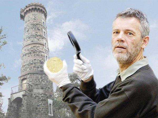 Medailér Luboš Charvát je předním českým autorem pamětních mincí a medailí. Díky jeho nápadům právě vzniká sběratelská edice medailí snejkrásnějšími českými rozhlednami. Ta cvilínská je vsérii pátým přírůstkem.