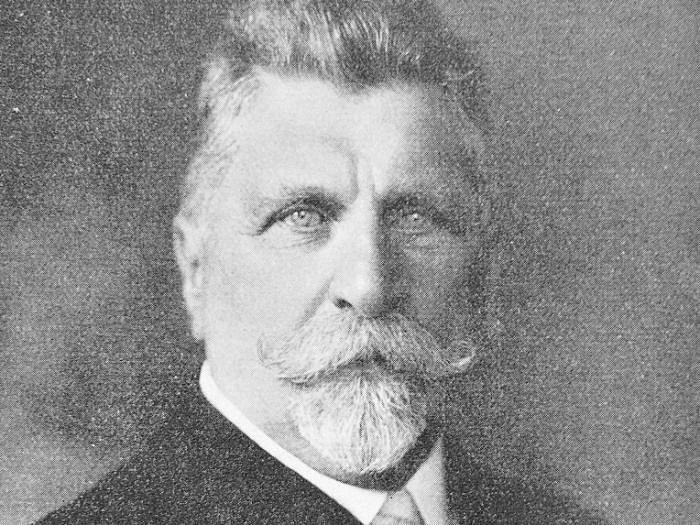 Starosta města Bruntálu Wenzel Franz Olbrich.