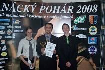 Zbyněk Špičák soutěžil na Hané spolu se svými žáky Aničkou Kurowskou a Tomášem Holubem.