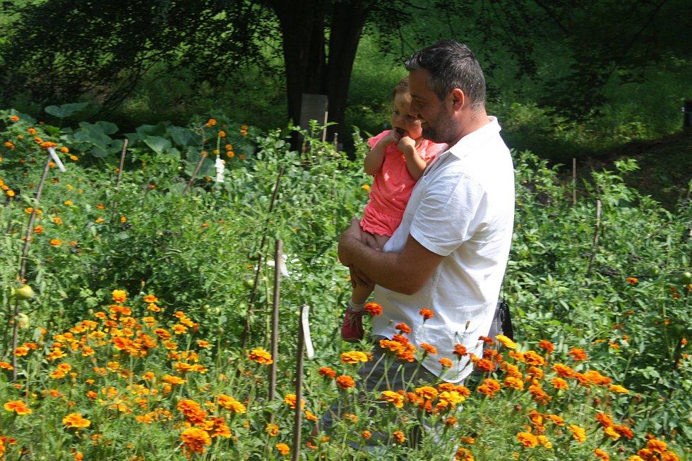 Český svaz ochránců přírody ČSOP Město Albrechtice popularizuje staré odrůdy a pořádá komentované prohlídky zahradnictví v  zámeckém parku v Hynčicích.