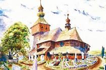 Ludvík Konečný byl také talentovaným malířem. Přesvědčili se o  tom v obci Tichá na Novojičínsku. Jeho syn Květoslav Konečný daroval obecnímu úřadu kopii tohoto akvarelu, který jeho otec maloval v červnu 1944.