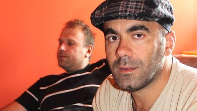 Pablo Lloréns (v popředí)