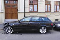Nehoda ve Svatováclavské ulici