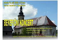 Benefiční koncert v sobotu v Hynčicích.