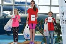 Kristýna Václavíková je jednou z největších nadějí bruntálského plavání, přepisuje jeden rekord za druhým.