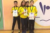 Zápasnické naděje. Mladí Krnováci opět ukázali svou vysokou kvalitu a přivezli z Polska medaile.