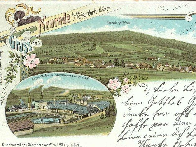 Unikátní pohlednice.
