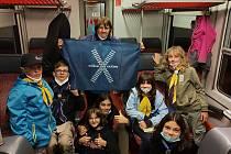 Do Evropského týdne mobility se zapojil také skautský oddíl Krnovská Trojka.