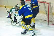 V sobotním utkání krajské ligy si hornobenešovský hokejový tým poradil na vlastním ledě s týmem Studénky a upevnil si před nastávajícím play-off třetí příčku v tabulce.