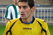 Krnovský fotbalista Miroslav Daříček rozhodl jediným gólem zápas krajského přeboru s Baníkem Albrechtice.
