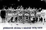 Krnovští hokejisté v sedmdesátých letech.