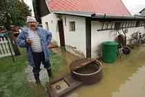 Velká voda na Krnovsku.