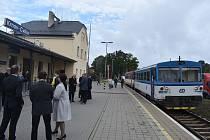Nádraží Krnov Cvilín po celkové rekonstrukci bylo 30. září slavnostně předáno cestujícím.