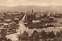 Mikulášská ulice v Krnově.