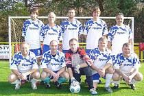 Seniorské mužstvo Olympie Bruntál