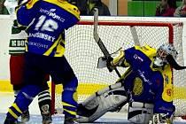 Hokejisté HK Krnov v Bohumíne neuspěli, doma to budou chtít napravit.