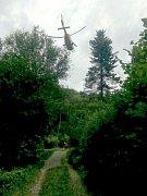 V úterý po půl jedenácté dopoledne přijali záchranáři informaci o zraněné ženě v oblasti Rešovských vodopádů.
