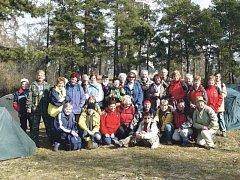 Zimní táboření v Úvalně má dlouhou tradici. Letos tam otužilí táborníci postaví své stany od 4. do 6. března.