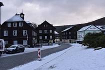 Karlova Studánka v zimě. Ilustrační foto.