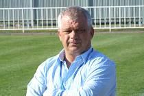 Trenér krnovských fotbalistů Antonín Hudský.
