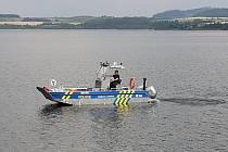 Akce Bezpečně u vody, Slezská Harta, 16. července 2021.