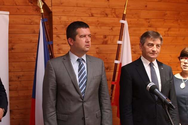 Ve Václavově uBruntálu se vpátek 24.června setkalo vedení Sejmu Polské republiky a Poslanecké sněmovny Parlamentu ČR.