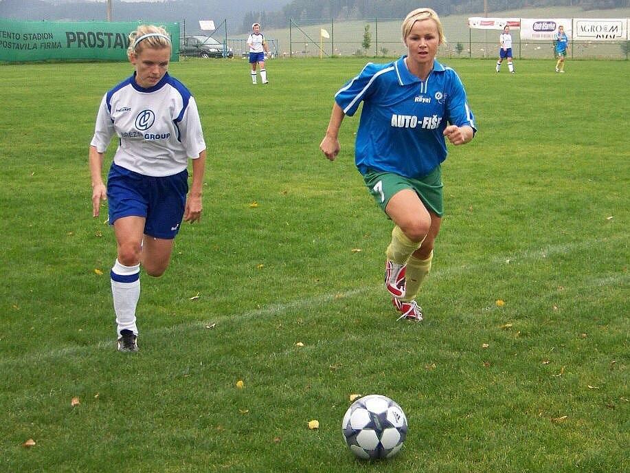 Olympia Bruntál dokázala vyhrát i v Českém Těšíně a vyhoupla se do čela divizní soutěže žen.