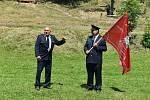 Obnovení kříže v Holčovicích Spáleném provázelo propojení křesťanských a hasičských tradic. Současně zde měli sraz majitelé motorek veteránů.