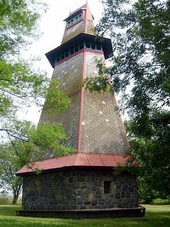 Tyršova rozhledna, zvaná Rozárka, se nachází ve městě Žamberk.