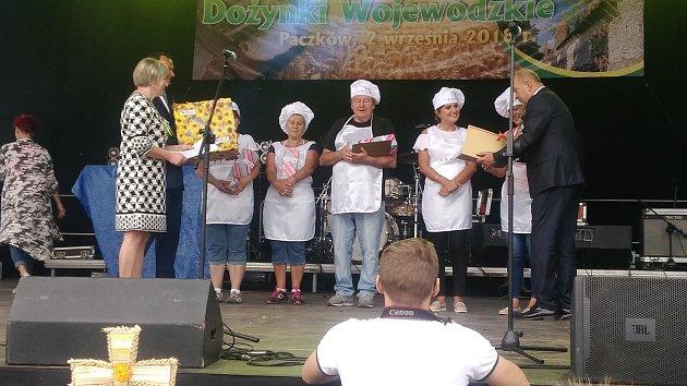 Dožínky vpolském Paczkowě byly místem, kde Spolek Přátelé Vrbenska triumfoval segedínským gulášem.