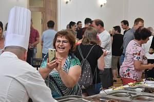 Otevírání Penzionu a restaurace Eden v Jindřichově, červen 2021.