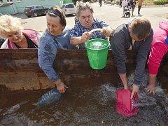 Ivo Dokoupil během měsíčního pobytu na východě Ukrajiny poznal každodenní život v městech a obcích na okraji válečné zóny. Lidé bydlí v domech s rozbitými okny bez vody a elektřiny, nefunguje doprava, zavřené jsou doly, továrny, pošty, úřady i banky.