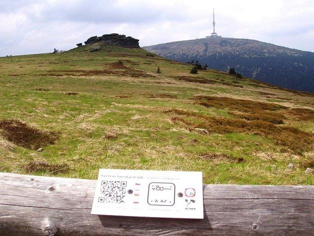 Petrovy kameny byly jedním zprvních míst, kde se turistické QR kódy objevily.