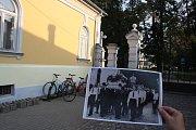 Krnovský hřbitov se od pohřbu Alfreda Knolla v září 1938 příliš nezměnil.