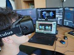 Živé ukázky na připravovaném semináři doplní vizualizace s virtuálními brýlemi.
