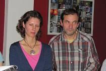 Vernisáž Štefana Gubera a jeho ženy Kateřiny Salajkové představila veřejnosti nový výstavní prostor v kavárně Moses.