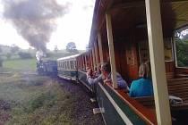 Parní vlak vyrazí 5. listopadu na Svatomartinské hody v Bohušově, které se konají v rekreačním areálu a v penzionu Pod Duby. V soupravě bude mít premiéru ozvučení s informacemi o Osoblažsku.