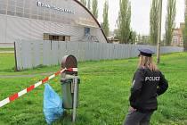 Únik čpavku na stadioně v Krnově