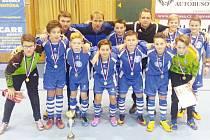 Žáci z Bruntálu skončili v základní skupině na druhém místě, ale pouze o skóre. V semifinálovém a finálovém boji však Bruntálští přemožitele nenašli.